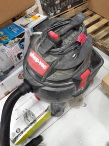 Shop Vac-Tested, Works