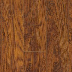 Pergo XP Highland Hickory 10 mm T x 4.87 in. W x 47.87 in. L Laminate Flooring (13.1 sq. ft. / case), Dark