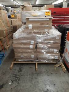 Pallet of SilveRboard 24 in. x 1 in. x 48 in. R5 Radiant Acoustic Insulation Kit - STC 19 (5-Piece) Pallet Contains 15 Boxes