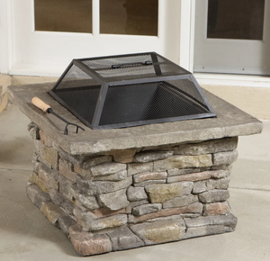 Corporal Square Fire Pit by Christopher Knight Home. $309.99 Retail