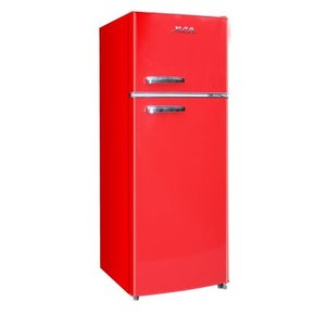 RCA 7.5 Cu. Ft. Top Freezer Refrigerator in Red - RETRO, RFR786