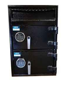 "BlueDot Depository Front Load Hopper Double Door Safe (30"" X 20"" X 20"")"