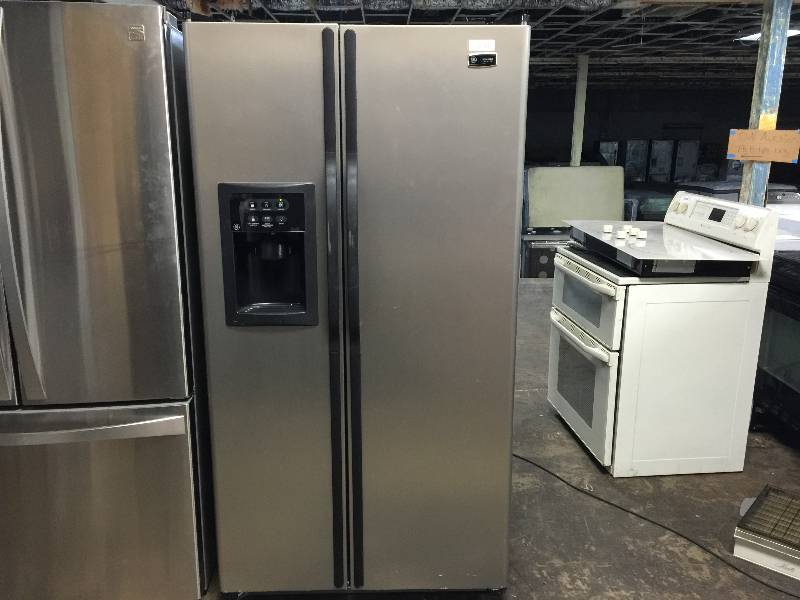 Ge eterna series refrigerator side by side model esh25xgpc 25 ge eterna series refrigerator side by side model esh25xgpc 25 cu ft south kcgrandview household specials equip bid publicscrutiny Gallery