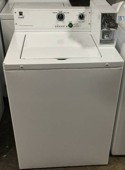 kenmore coin operated washing machine