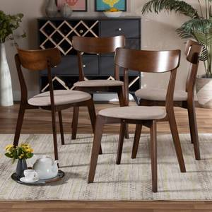 Orion Mid Century Modern Transitional Dining Chairs  SET OF 4