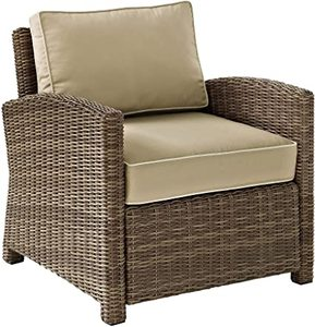 Crosley Furniture Bradenton Outdoor Wicker Chair