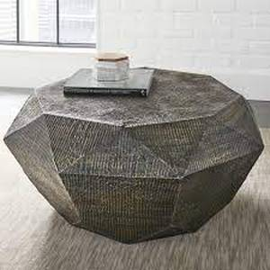 The Curated Nomad Divo Geometric Shaped Coffee Table