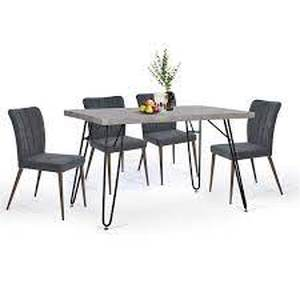 Carbon Loft Searz Modern Cement Dining Table