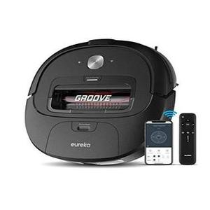 Eureka Groove Robot Vacuum Cleaner Wi-Fi Connected App Alexa & Remote Control...