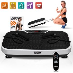 Hurtle- Standing Vibration Fitness Machine- Vibrating Platform Exercise & Workout Trainer with Adjustable Speed