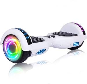 White Hoverboard