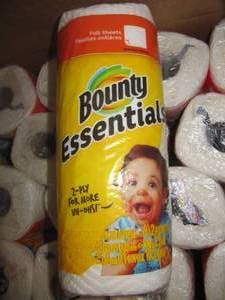 27 ROLLS OF BOUNTY PAPER TOWELS