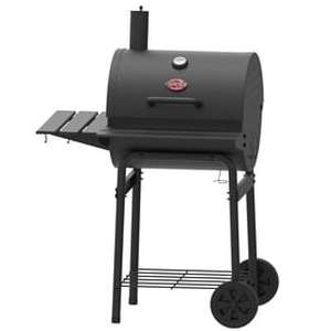 Char-Griller 23-in Barrel Charcoal Grill