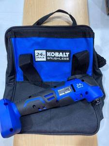 Kobalt 24v Max Brushless Multi Tool and Bag