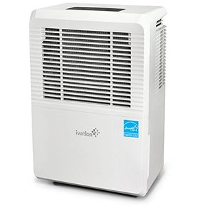Ivation 70 Pint Energy Star Dehumidifier with Pump, Includes Programmable Humidity BRAND NEW , Hose Connector, Auto Shutoff and Restart, Casters and Washable Filter