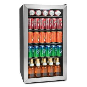Igloo IBC35SS 3.5 Cu. Ft. Beverage Cooler, Stainless Steel- Retail:$297.99