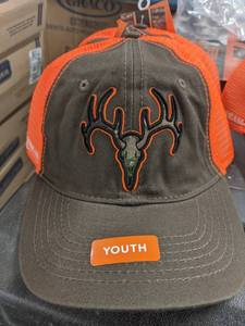 Field And Stream Youth Adjustable Deer Baseball Cap Hat One Size Fits All451 lot of 3 hats