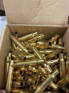 30-06 Brass cleaned and polished 4 pounds