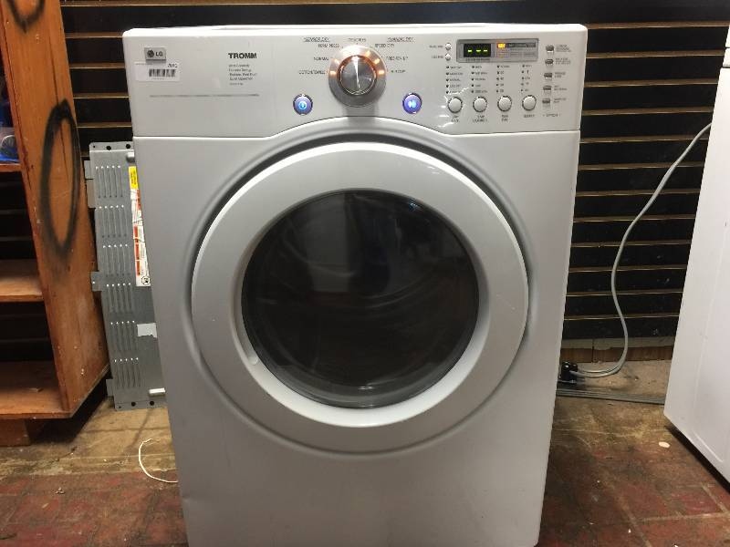 lg dle3777w tromm ultra capacity 7 3 electric dryer