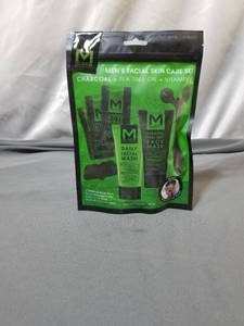 MBLACK MEN'S FACIAL SKIN CARE SET