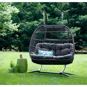 Carova Double Hanging Chair by Avenue 405- Retail:$692.99