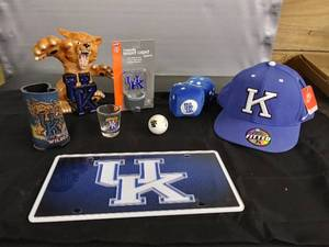 University of Kentucky Cookie Jar/ New Hat/ New Nightlight & Other Items