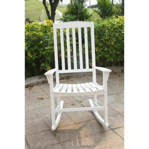 White- Cambridge Casual Alston Porch Rocking Chair- Retail:$142.49