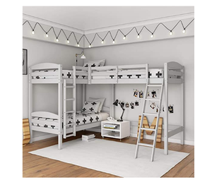TRIPLE BUNK BED 2 SET