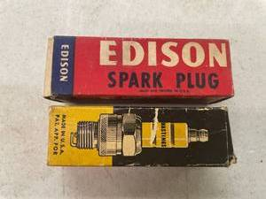 Edison Spark Plug, Hastings Spark Plug, New In Box