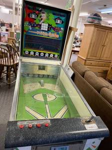 Vintage Williams Pitch & Bat Baseball Theme Pinball Machine