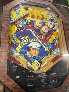 Vintage Fascination Roy Clark the Entertainer Pinball Machine