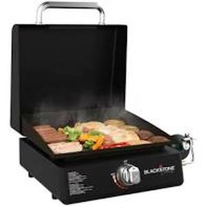 "Blackstone 17"" griddle tabletop griddle with hood"