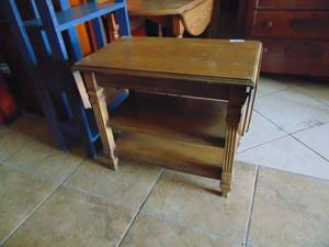 Drop Leaf End Table - Sewing Table ?