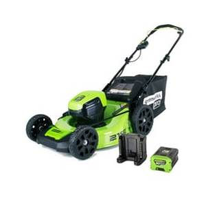 Greenworks Pro 60-volt Brushless Lithium Ion 21-in Cordless Electric Lawn Mower