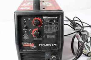 Lincoln electric pro-mig 175 mig/flux-corded wire feed welder
