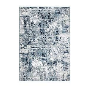 World Rug Gallery Wynn Abstract Rug, Blue, 8X10 Ft