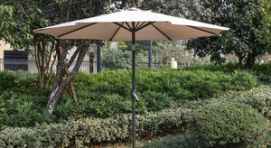 Brand New Patio Umbrella w/ Built in Solar Powered LED Lights