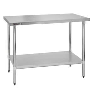 Brand New in Box 60 inch long x 30 inch deep x 36 inch heigh stainless steel Work Table w/ Undershelf Kintera