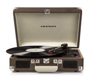 Crosley Radio Cruiser Deluxe Turntable, Size One Size - Brown