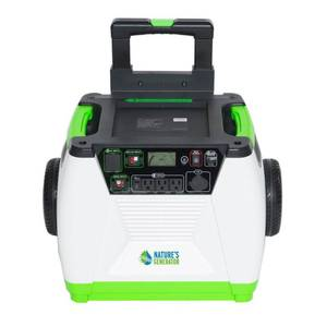 Nature's Generator- 1800W Solar and Powered- $893.99