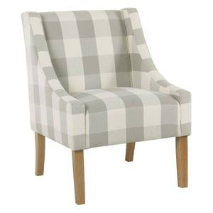 HomePop Modern Swoop Accent Chair- Retail:$179.99