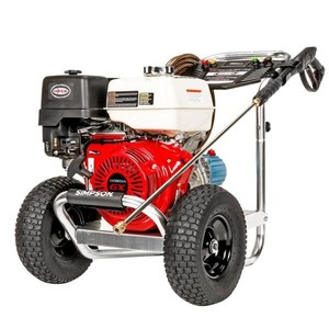 Aluminum 4200 PSI at 4.0 GPM HONDA GX390 Cold Water Pressure Washer Retail :1299MISSING Pressure Wand and handle look at pictures 2,3,4)