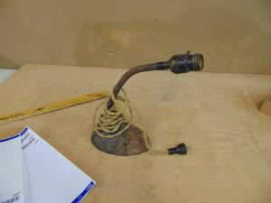 Cast Iron Base Desk Lamp