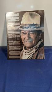 John Wayne tin picture