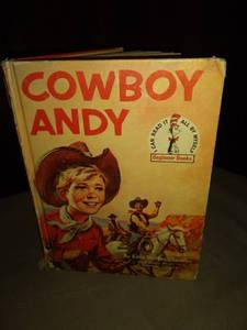 Dr Seuss 1959 cowboy Andy book no torn pages