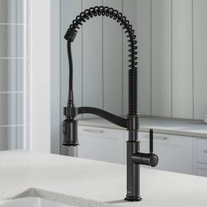 Sellette Commercial Style Pull-Down Kitchen Faucet in Oil Rubbed Bronze