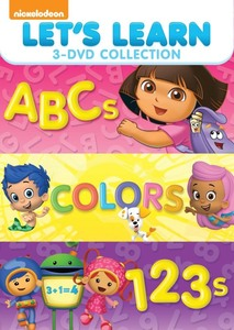 Let's Learn: ABCs/Colors/123s [3 Discs] [DVD]