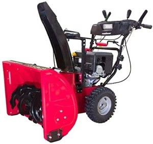 PowerSmart DB7126 26 in. 212cc 2-Stage Electric Start Gas Snow Blower with Headlight