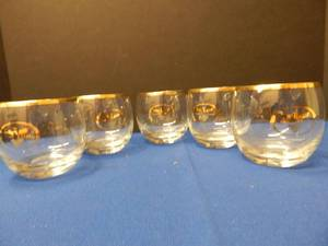 Set of 5 Rocks Glasses