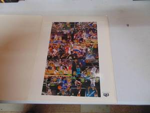 Uncut Sheet of Basketball Cards - Upper Deck 1993 - All division team sheet 455/5000